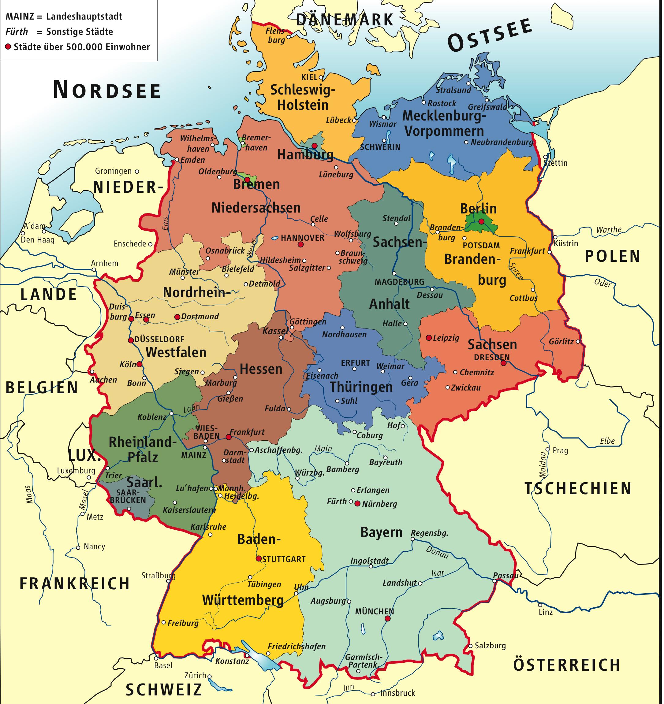 Découvrez l'Allemagne