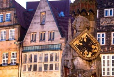 Brême, l'une des villes les plus importantes dans le nord de l'Allemagne.