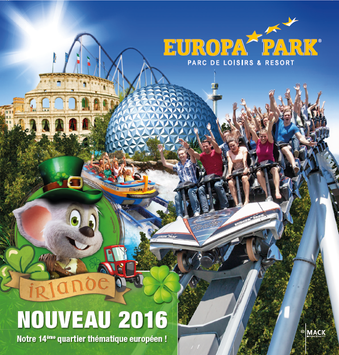 Découvrez le parc d'attraction Europa-Park à Rust en Allemagne